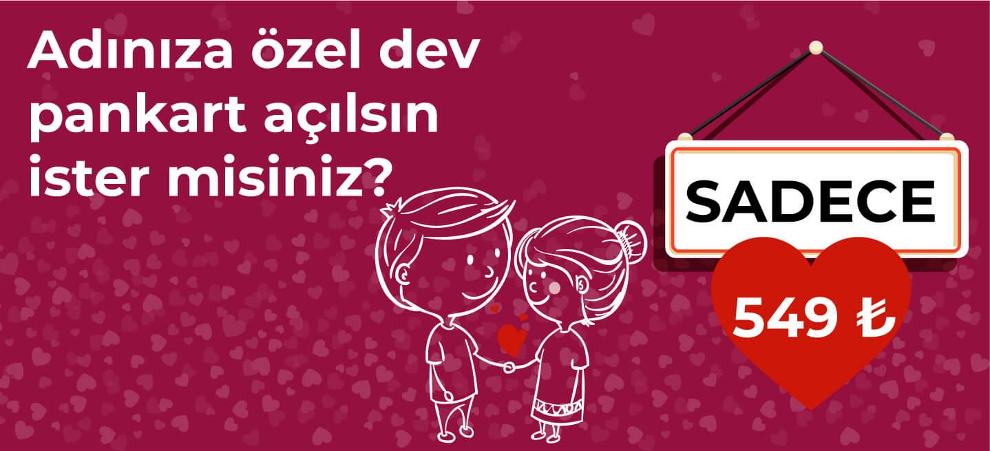 dev pankart ile aşkınızı haykırın